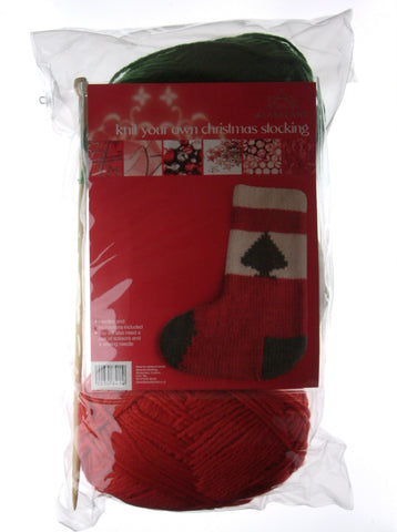 Knit Your Own Christmas Stocking Kit ***SAVE 50%***