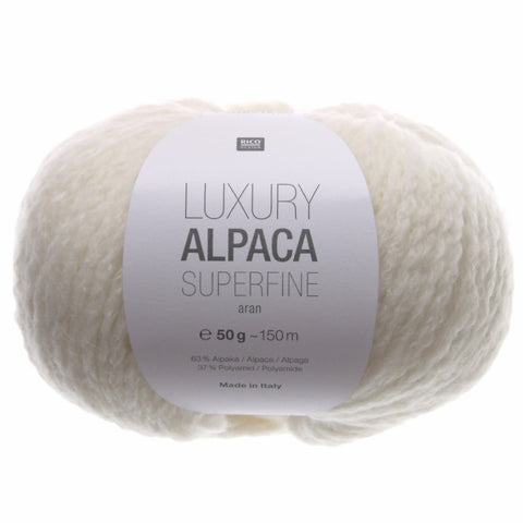 Rico Luxury Alpaca Superfine Aran