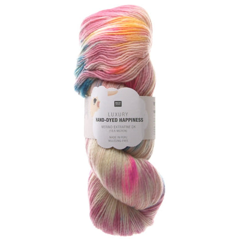 Rico Luxury Hand-Dyed Happiness DK