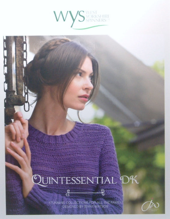 West Yorkshire Spinners Quintessential DK Pattern Book
