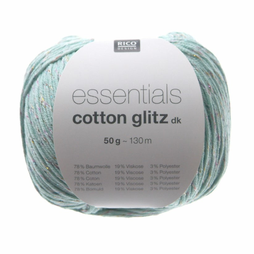 Rico Design Essentials Cotton Glitz DK