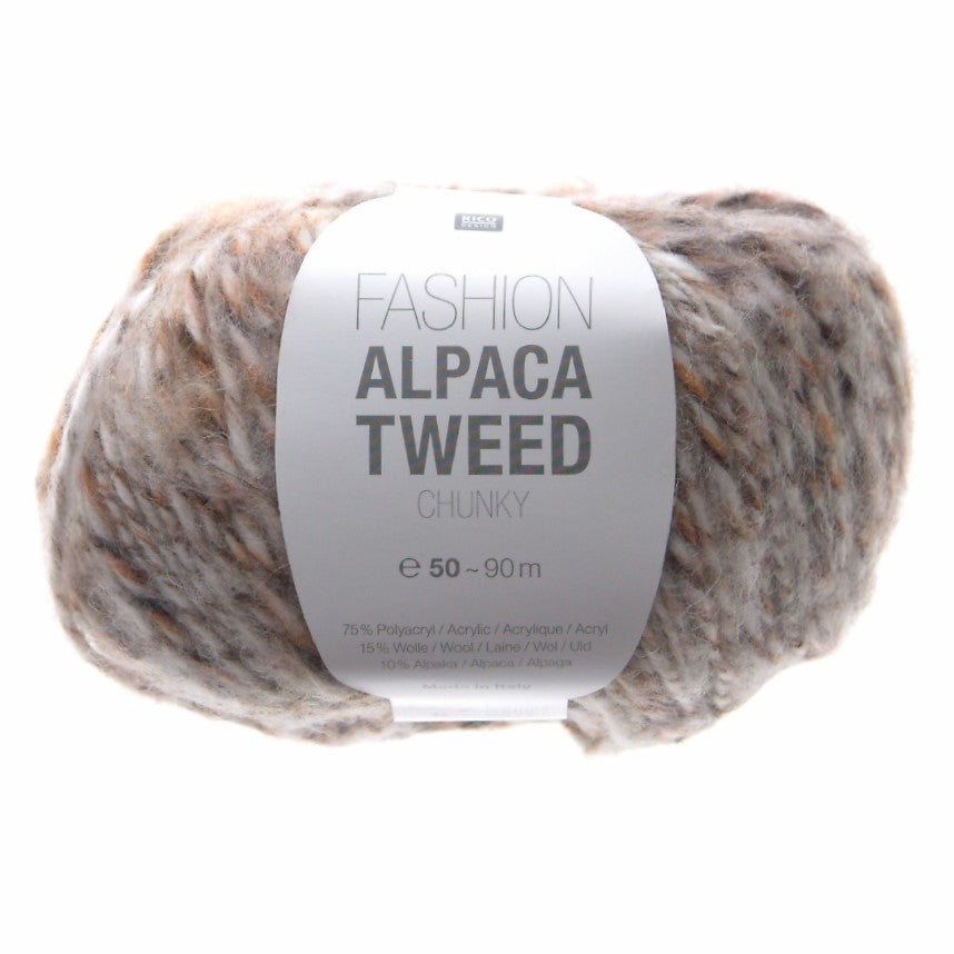 Rico Fashion Alpaca Tweed Chunky