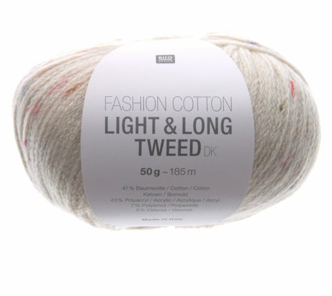 Rico Fashion Cotton Light & Long Tweed DK
