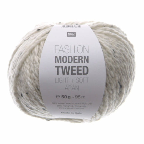 Rico Fashion Modern Tweed Light + Soft Aran