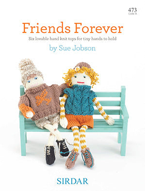 Sirdar Friends Forever Pattern Book 473