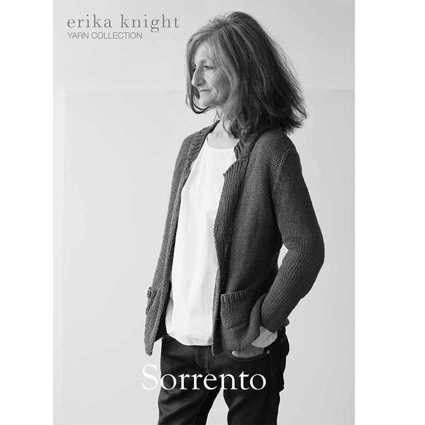Erika Knight Pattern 035 Sorrento - Studio Linen