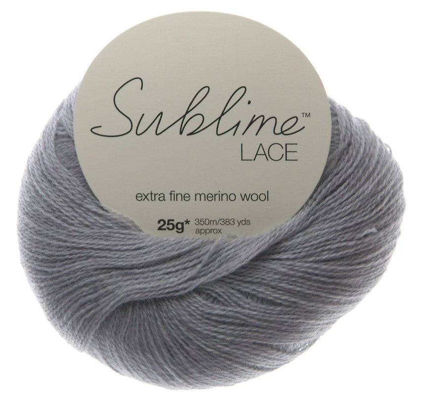 Sublime Lace Extra Fine Merino Wool