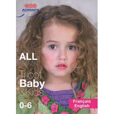 Adriafil All Season Tricot Baby & Kids - Pattern Book