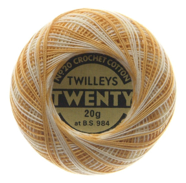 Vintage Twilleys Twenty No20 Crochet Cotton