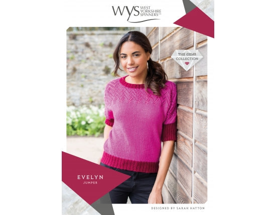 West Yorkshire Spinners Pattern - Evelyn Jumper