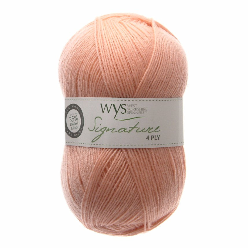 West Yorkshire Spinners Signature 4ply 100g