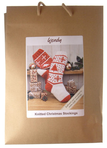 Wendy Knitted Christmas Stockings ***SAVE 25%***