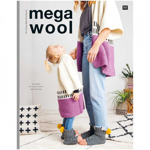 Rico Design Mega Wool Special Pattern Book