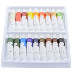 Acrylic paint set sets of 18 colors