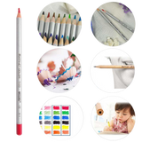 Marco 72 colors art drawing oil base non toxic pencils set for artist sketch