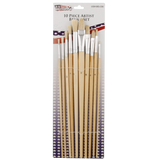 Piece versatile paint brush set the perfect mix of quality and variety for hobbyists and aspiring artists