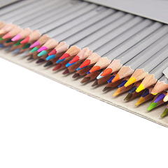 Pro colorful marco fine art drawing oil base non toxic pencils set