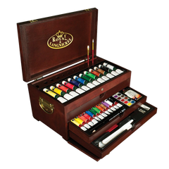 Royal langnickel premier painting chest deluxe art set 80 piece