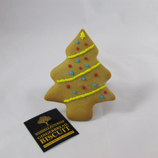 Gluten Free and Dairy Free Gingerbread Christmas Tree