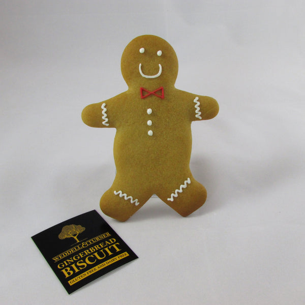 Gluten and Dairy Free Gingerbread Man