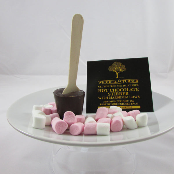 Hot Chocolate Stirrer with Marshmallows