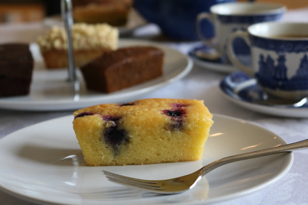 Blueberry and Lemon Drizzle