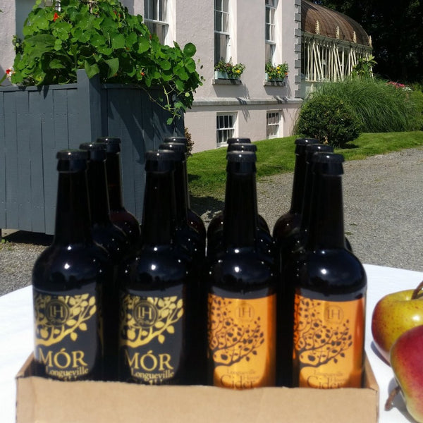Case of 1/2 & 1/2 of Longueville House Cider's