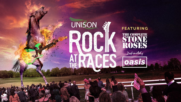 Win 2 county stand tickets to Rock at the Races UNISON Raceday