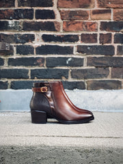 Kittylene Ankle Boot | Rich Brown