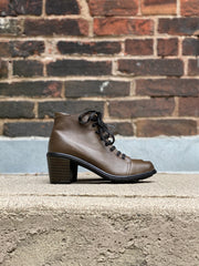 Zelanie Bootie | Olive - Wright Shoe Co. Ltd