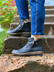 Cleora Water Resistant Boot | Black - Wright Shoe Co. Ltd