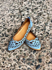 Perlilta | Slip On - Blue - Wright Shoe Co. Ltd