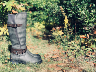 Gnersis | Tall Boot - Grey Multi - Wright Shoe Co. Ltd