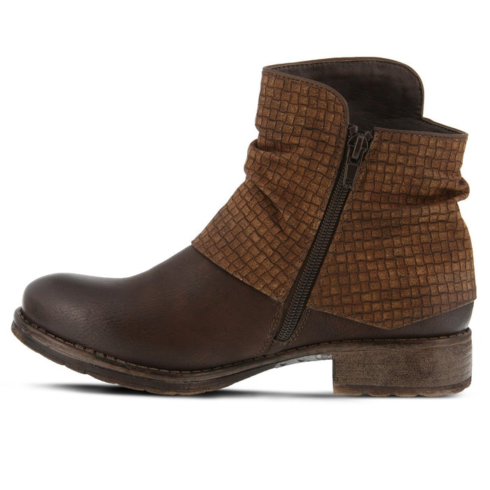 Ambroise | Women's Ankle Boot - Brown - Wright Shoe Co. Ltd