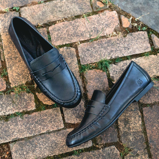 Barnstable | Classic Loafer - Black - Wright Shoe Co. Ltd