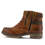Citrine | Water Resistant Ankle Boot - Brown - Wright Shoe Co. Ltd