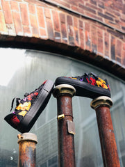 ara Callie HighSoft Sneaker | Black Floral - Wright Shoe Co. Ltd