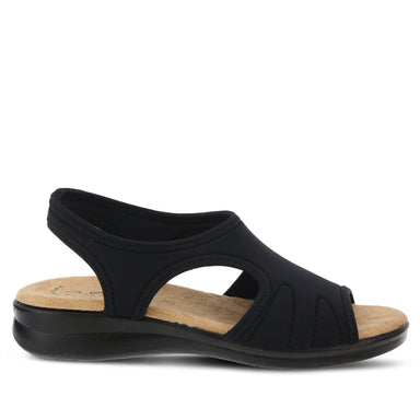Nyaman | Easy Flex Sandal - Black - Wright Shoe Co. Ltd
