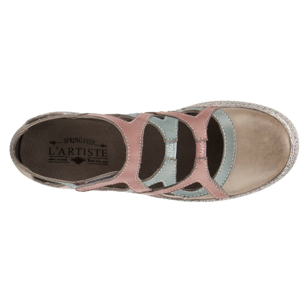 Phystral | Slip-On Shoe - Beige Multi - Wright Shoe Co. Ltd