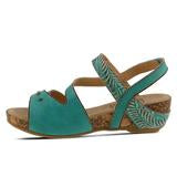 QUILANA (Turquoise) - Wright Shoe Co. Ltd