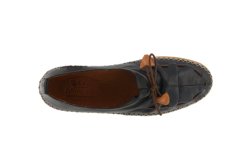 Berna Artistic Slip-on | Black - Wright Shoe Co. Ltd