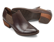 Dallia | Heeled Shoe - Dark Brown - Wright Shoe Co. Ltd