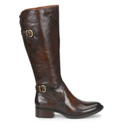 Gibb | Tall Riding Boot (Adjustable Calf) - Brown - Wright Shoe Co. Ltd