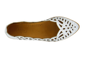 Perlita | Slip-On Shoe - White - Wright Shoe Co. Ltd