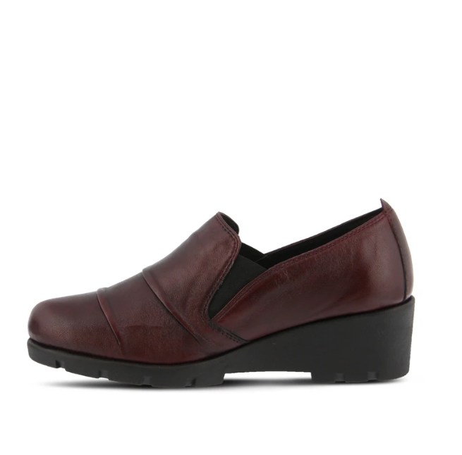 Anahita Casual Loafer | Bordeaux - Wright Shoe Co. Ltd