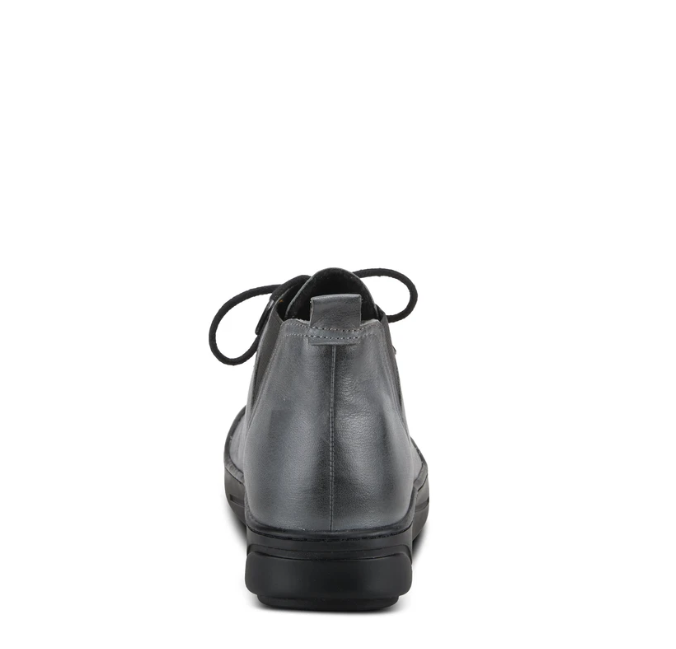 Cherly Bootie | Charcoal Multi - Wright Shoe Co. Ltd