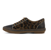 Libbi-Leopard Lace Up | Black - Wright Shoe Co. Ltd
