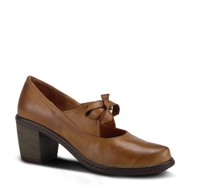 Welch Mary-Jane Pump | Brown - Wright Shoe Co. Ltd