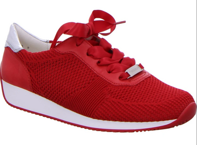 Lilly Fusion4 Trend Sneaker | Red - Wright Shoe Co. Ltd