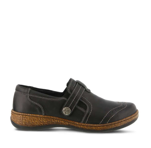 Smolqua Shoe | Black - Wright Shoe Co. Ltd